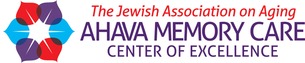 Jewish Association on Aging AHAVA Memory Care Logo