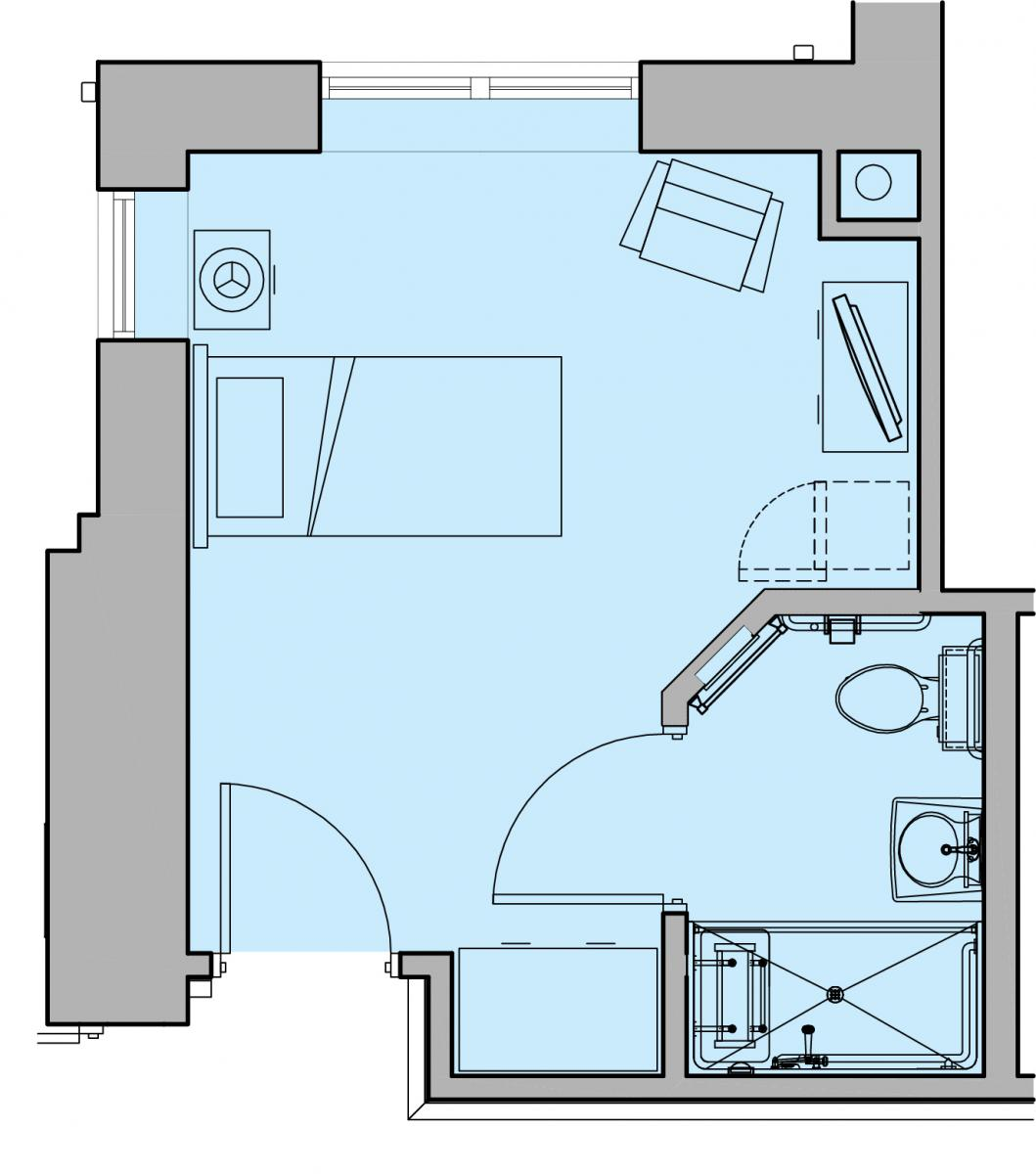 The Hummingbird Floor Plan