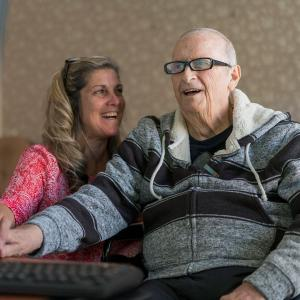 Memory Care Resident with daughter